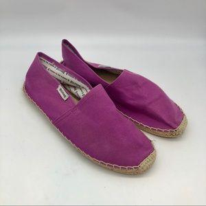 Soludos Espadrille Flats Purple